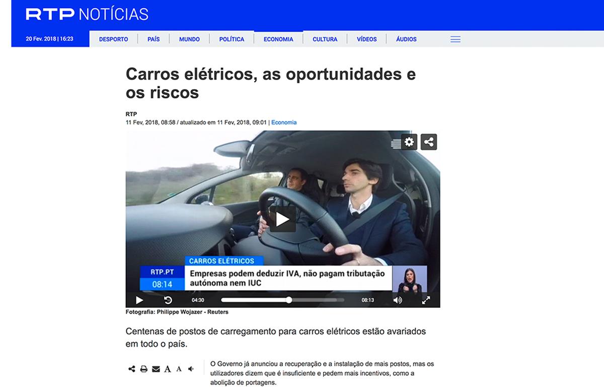 Carros elétricos Vigent Group – RTP Notícias