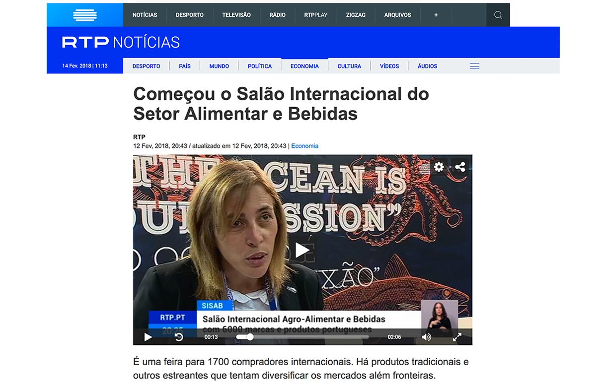 Começou o Salão Internacional do Setor Alimentar e Bebidas – RTP Notícias