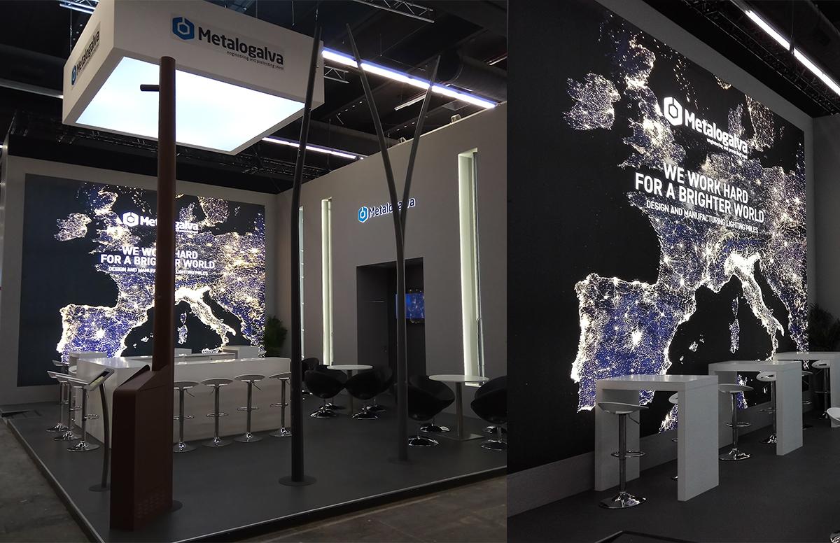 A Metalogalva marcou presença na Light + Building 2018