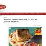 Brasmar renova selo Sabor do Ano em polvo e bacalhau – Grande Consumo