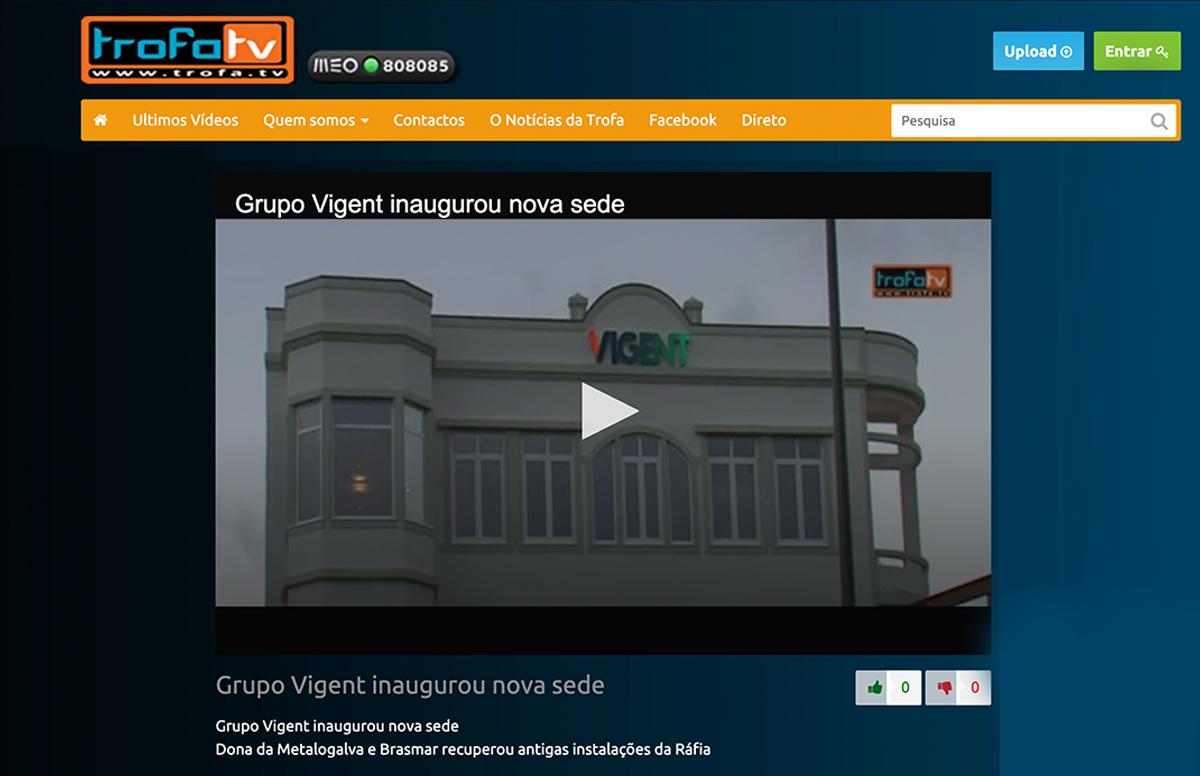 Grupo Vigent inaugurou nova sede – Trofa TV