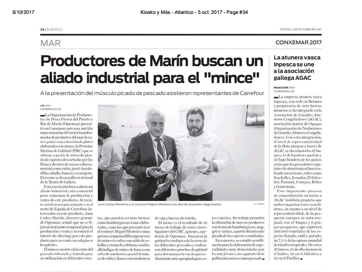 """Productores de Marín buscan un aliado industrial para el """"mince"""" – Atlântico Es"""