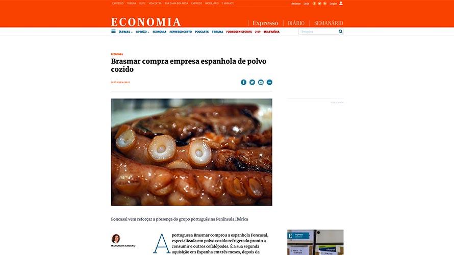 Brasmar compra empresa espanhola de polvo cozido – Economia