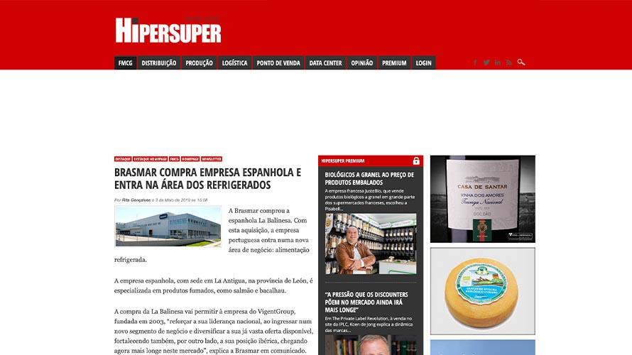 Brasmar compra empresa espanhola e entra na área dos refrigerados – HiperSuper