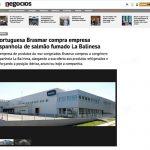Portuguesa Brasmar compra empresa Espanhola de salmão fumado la balinesa –  Jornal de Negócios