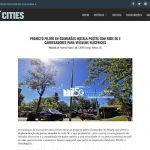 Projecto piloto em Guimarães instala postes com rede 5G e carregadores para veículos Eléctricos – Smart Cities